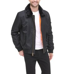 tommy hilfiger men's military bomber jacket, created for macy's