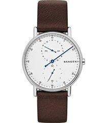 reloj skagen para hombre - signatur  skw6391