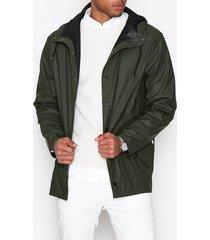 rains jacket jackor green