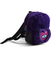 mochila violeta back up