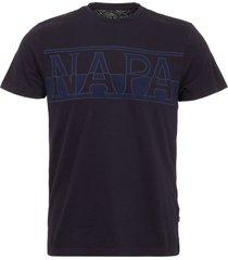 napapijri blue marine saslong t-shirt n0yh4j176