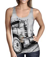 american trucker ladies tank top