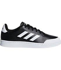 zapatillas moda adidas  court70s hombre negro