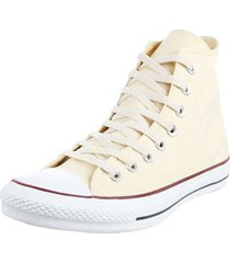 zapatilla amarillo converse chuck taylor all star core hi white