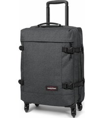 eastpak trolley - trans4 s, black denim