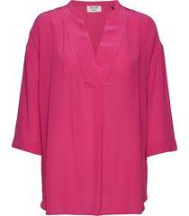 day fan blouses short-sleeved roze day birger et mikkelsen