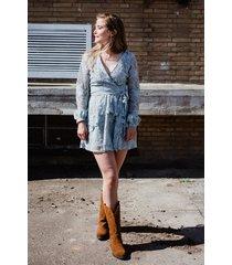 na-kd jurk licht blauw 1018-004203