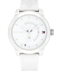 reloj blanco tommy hilfiger 1791481 - superbrands