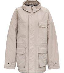 balenciaga oversize beige coat