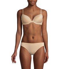 calvin klein women's constant t-shirt bra - black - size 34 dd