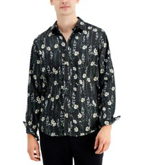 inc men's karsyn floral shirt, created for macy's