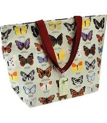 cartera multicolor reciclable almacén de parís mariposa