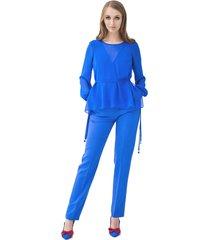 spodnie niebieskie