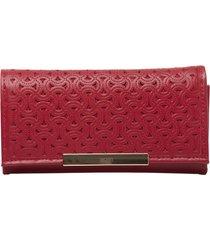 billetera blous rojo bosi