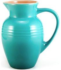 jarra 2 litros azul caribe le creuset
