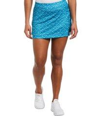 pga tour women's printed tennis skort
