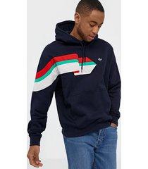 adidas originals ripple hoody tröjor ink