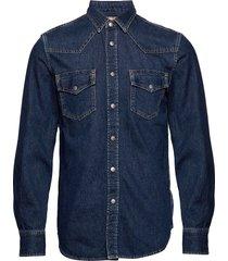 d-east-p shirt overhemd casual blauw diesel men