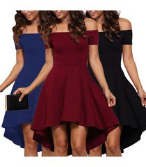 dress sexy for women off shoulder elegant ladies party mini dresses