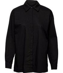03 the shirt långärmad skjorta svart my essential wardrobe