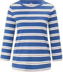 shirt met ronde hals en mouwen in 3/4-lengte van bogner multicolour