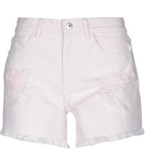 only denim shorts