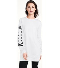 vestiti logo sweat dress