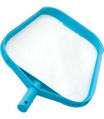 peneira de limpeza para piscina 29,5x41,6cm azul