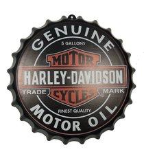 placa tampa cerveja decorativa churrasqueira motocicletas