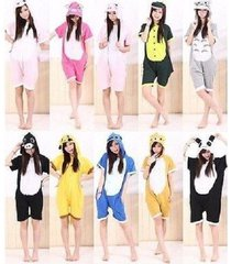new unisex  kigurumi pajamas summer anime cosplay sleepwear various style