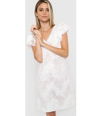 vestido blanco asterisco lucena