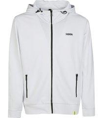 hogan side zipped pocket hoodie