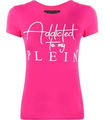 philipp plein ss statement t-shirt - pink