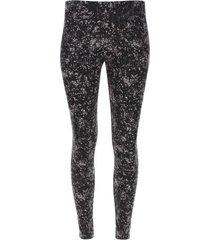 leggings mini puntos color negro, talla 10