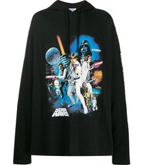 vetements x star wars graphic print hoodie