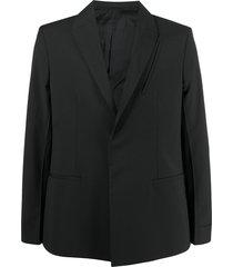 1017 alyx 9sm classic tailored blazer - black