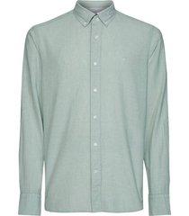 overhemd button groen