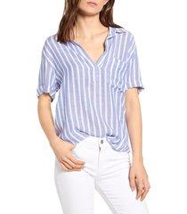 women's rails savannah woven shirt, size xx-small - blue