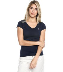 camiseta azul navy us polo assn