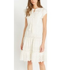 buffalo david bitton kendal crocheted lace dress