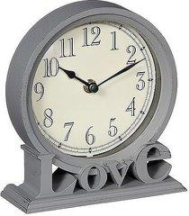 zegar stołowy love gray