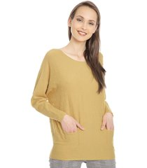sweater bunnys amarillo - calce holgado