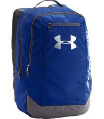 maleta under armour hustle backpack  1273274-400 - azul