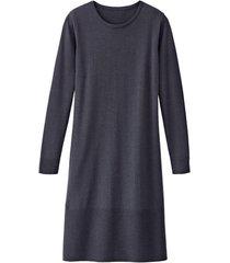 gebreide jurk, antraciet 36