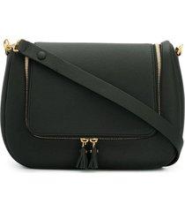 anya hindmarch vere soft satchel - black