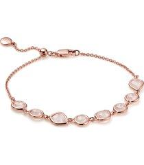 women's monica vinader siren mini nugget cluster bracelet