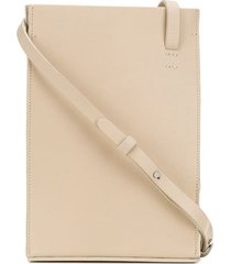 aesther ekme twisted shoulder bag - white