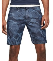 g-star raw men's camo chino shorts