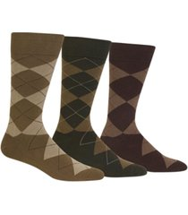 polo ralph lauren men's socks, extended size argyle dress men's socks 3-pack