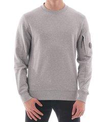 cp company diagonal raised sweatshirt - grey  082a-5086w m93